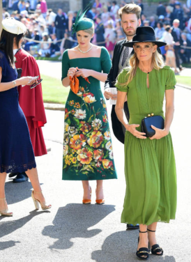Lady Kitty Spencer and Victoria Aitken