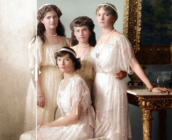 Romanov Girls colour
